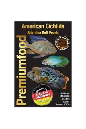 Discusfood American Cichlid Spirulina Pearls