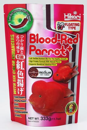 Hikari Blood Red Parrot+