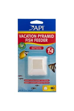 API Vacation Pyramid Fish Feeder
