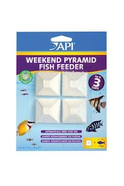 API Weekend Pyramid Fish Feeder