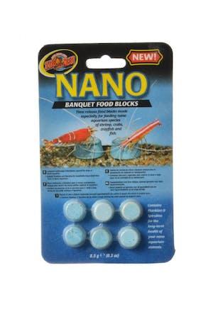 Zoo Med Nano Banquet Food Blocks