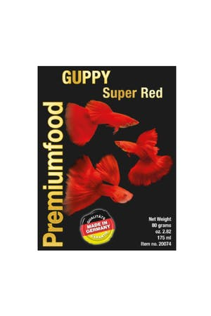 Discusfood Guppy Super Special RED