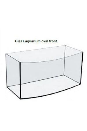 AQUAEL Aquarium 60 Oval