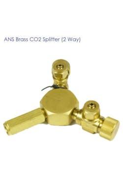 ANS Brass CO2 Divider