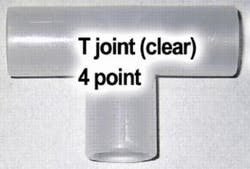 TW Clear T-Joint (4 Point)