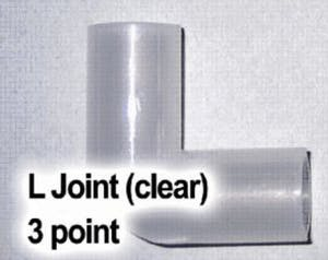 TW Clear L-Joint (3 Point)