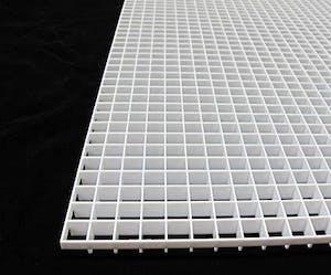 NF Eggcrate lover (White) 120 x 60cm