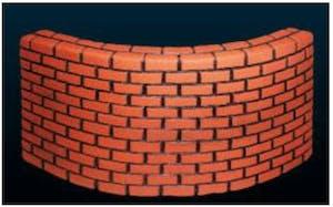 UP F1081XL Brick Wall XL