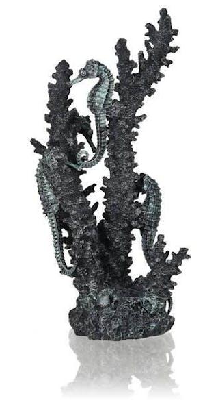 biOrb seahorses on coral black M