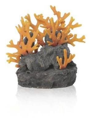 biOrb Lava rock with fire coral ornament