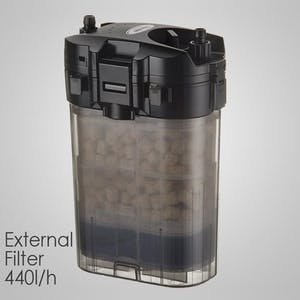 SHIRUBA XB305 external filter 440l/h