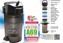 CRAB AQUA CA-F-011 External Filter A69