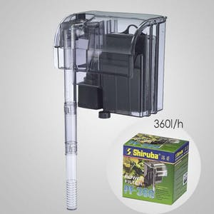 SHIRUBA PF360 Hang-on Filter 360l/h