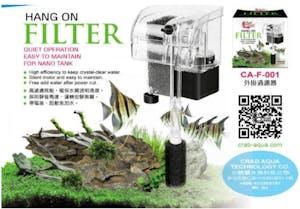 CRAB AQUA CA-F-001 Hang-On Filter