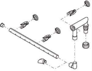 OASE Repl. Spraybar-Set FiltoSmart 100