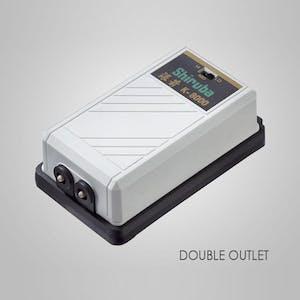 SHIRUBA K8000 2-Outlet Air Pump