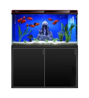 SUNSUN HEZ-600 Aquarium Tank Set (Black)