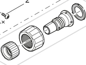 OASE Hose connector 1 - 17 mm