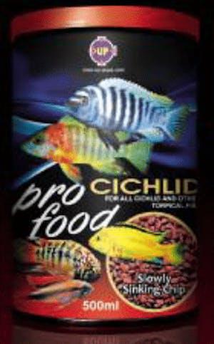 UP E-639-500 Cichlid Food (Slow sink) 500g