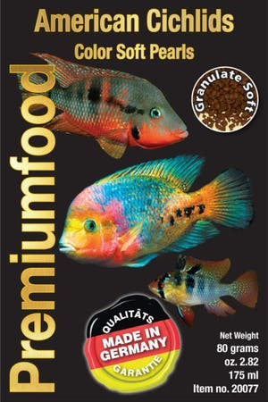 DiscusFood American Cichlid colour pearls 80g 1mm