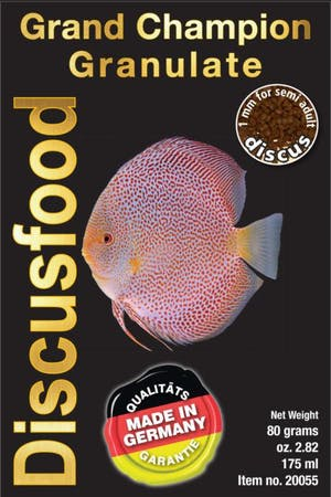 DiscusFood Grand Champion granulate 1mm 80g / 230g