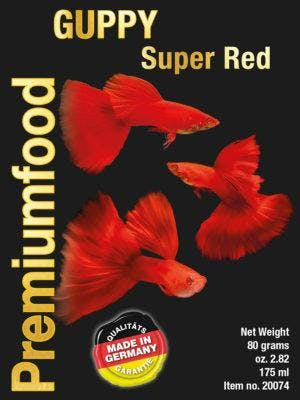 DiscusFood Guppy Super Special RED 80g 1mm