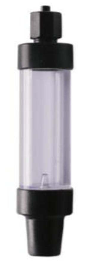 UP D-498 Bubble Counter with Check Valve (screw)