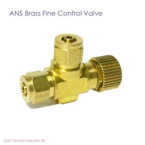 ANS Brass Fine Control Valve
