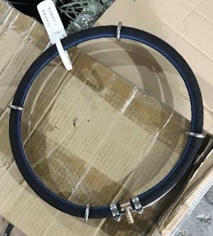 NF KS-QHL-25 Rubber Air Diffuser Round (25cm - D16)