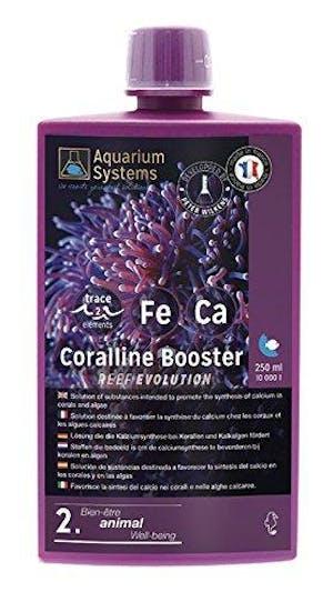 AQUARIUM SYSTEMS REEF EVOLUTION CORALLINE BOOSTER EXTRA 2 250ML