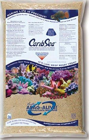 CARIBSEA ARAG-ALIVE SPECIAL GRADE REEF SAND 20LBS
