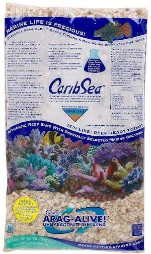 CARIBSEA ARAG-ALIVE NATURAL REEF 16LBS