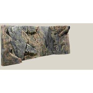 BACK TO NATURE 3D BACKGROUND ROCKY JUWEL(L: 120 X H: 47 CM)