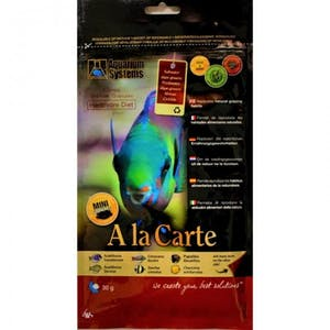 AQUARIUM SYSTEMS ALA CARTE HERBIVORE DIET SPIRULINA 30G(LARGE)