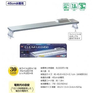 GEX CLEAR LED 450
