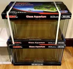 Curved Glass Tank - Demily DS 50L