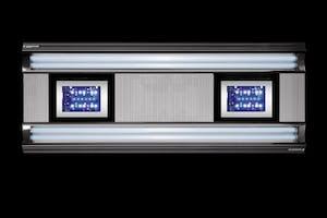 AURORA HYBRID 4 X 80 WATT + 4 X 85W LED 1500 MM