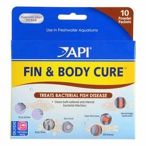 API FIN & BODY CURE POWDER 10 PKTS