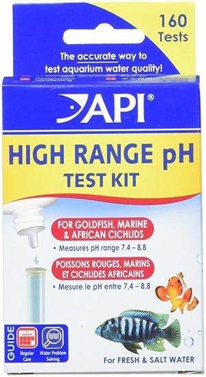 API TEST KIT FW/SW HIGH RANGE PH