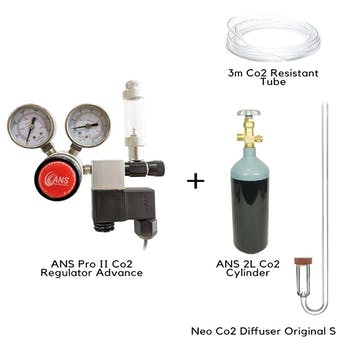 (Build Your Own Co2) ANS PRO II Co2 Regulator Advance with Solenoid