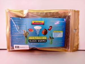 Australian Blackworm Pellets 50g