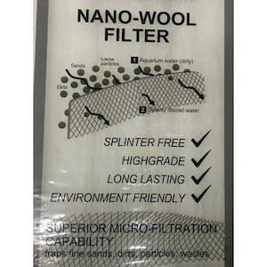 Nano -wool Filter(120cm x 38. 5cm)