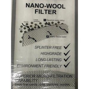 Nano -wool Filter(43.5cm x9. 5cm)
