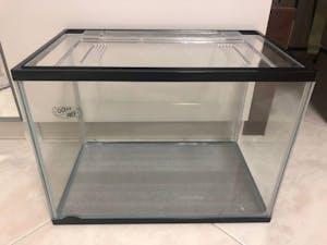 Ocean Free Fish Tank with Lid 36cm