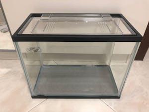 Ocean Free Fish Tank with Lid 44cm