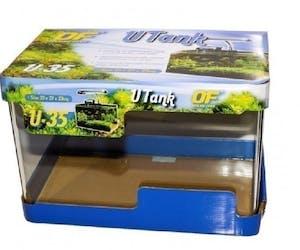 Ocean Free Glass Curved Tank 35cm