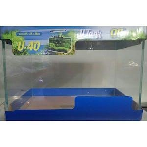 Ocean Free Glass Curved Tank 40cm