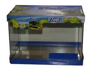 Ocean Free Glass Curved Tank 44cm