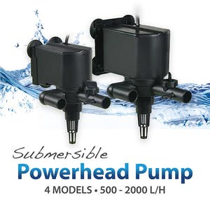 [Resun] Submersible Powerhead Pump 500L/H - 2000L/H