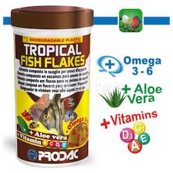 [Prodac] Tropical Fish Flakes for Aquarium Fishes 50g/1.76oz